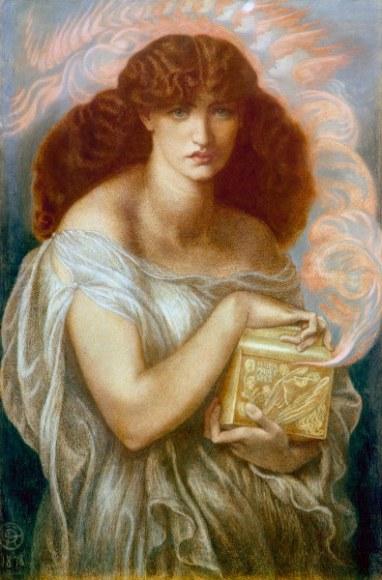 D.G.Rossetti, Pandora - -